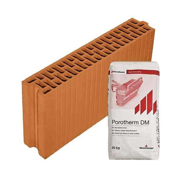 Porotherm Profi + V.F.H. 10 N+F tégla