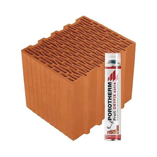 Porotherm Profi + Dryfix 30 Klíma tégla