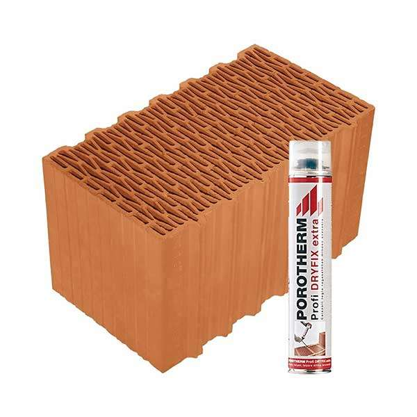 Porotherm Profi + Dryfix 44 Klíma tégla