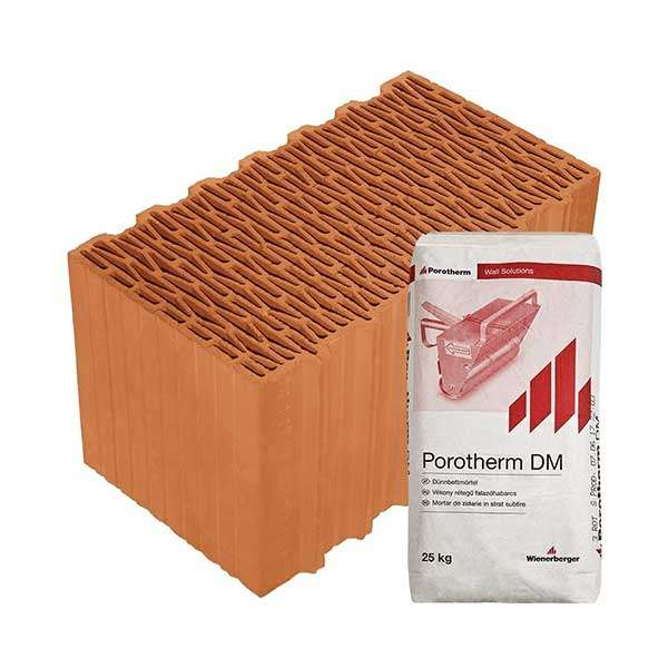 Porotherm Profi + V.F.H. 44 Klíma tégla