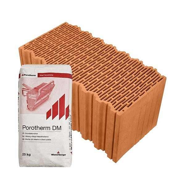Porotherm Profi + V.F.H. 50 Klíma tégla